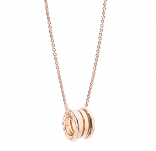 Bvlgari Rose Gold B.Zero 1 Pendant Necklace