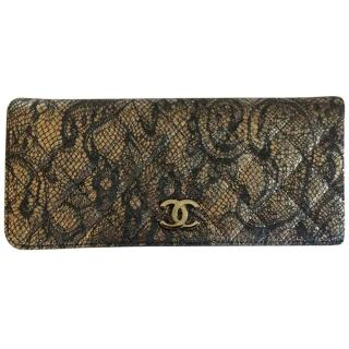 Chanel Lace Clutch Bag