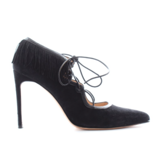 Bionda Castana Suede Lace-Up Pumps