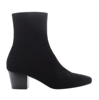 Dorateymur Black Suede Ankle Boots