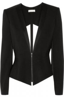 Sass & Bide Black Cut-Out Blazer