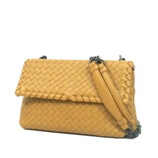 Bottega Veneta Intrecciato Olimpia Shoulder Bag