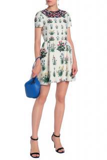 Valentino Floral Print Mini Dress
