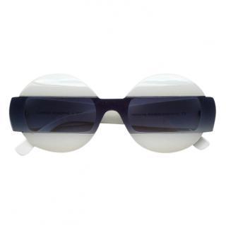 Costume National Round Catwalk sunglasses