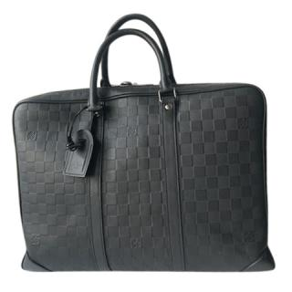 Louis Vuitton Graphite Leather Business Case