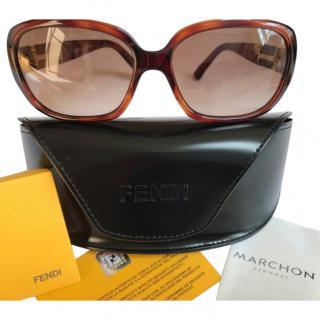 Fendi Havana FS5202 Sunglasses