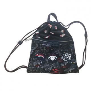 Kenzo Multi-Print Drawstring Backpack