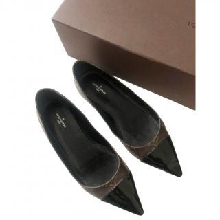 Louis Vuitton Cherie Monogram Ballerina Flats