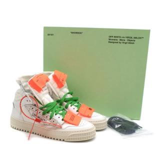 Off White C/O Virgil Abloh Low 3.0 Sneakers in White