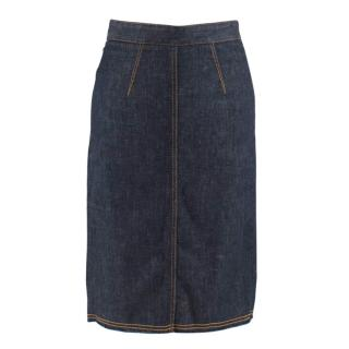 Fiorucci Denim Margot Pencil Skirt