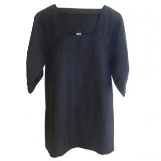 IRO Black Silk & Linen Tunic