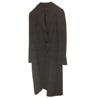 Loro Piana Alpaca Blend Tweed Coat