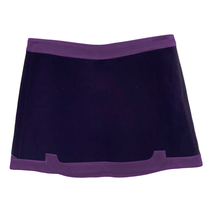 Maje Purple Mini Skirt