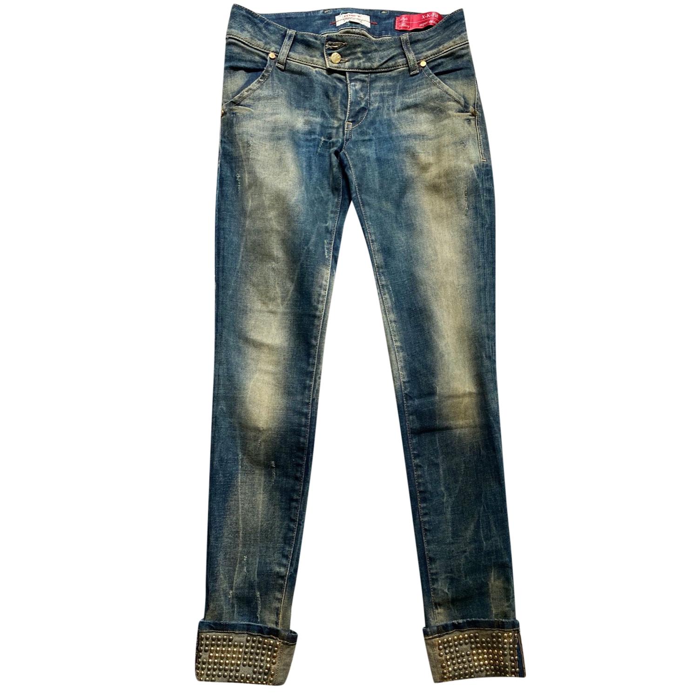 Met Studded Turn Cuff Jeans