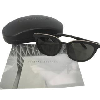 Victoria Beckham Black Classoic Sunglasses