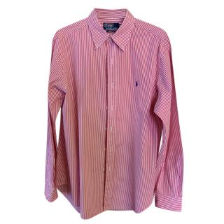 Ralph Lauren Red Striped Shirt