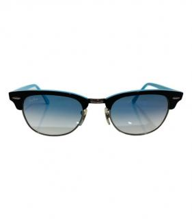Ray-Ban Black and Blue Club Master Sunglasses