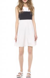 Joseph Colourblock Sleeveless Shift Dress