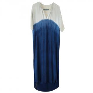 Raquel Allegra Ombre Tie-Dye Dress