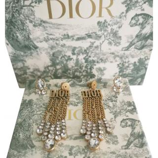 Dio(r)evolution Chain Drop Earrings
