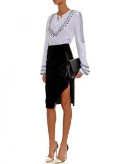 Altuzarra Avenger Ruffle-front Skirt