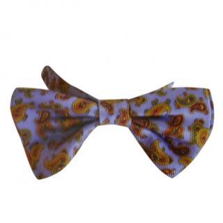 Louis Feraud Paisley Print Bow Tie