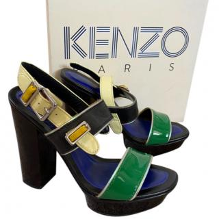 Kenzo platform Multi coloured sandals