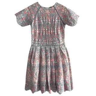 Manoush Crochet Printed Dress