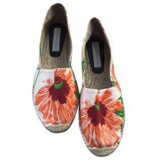 Stella McCartney Floral Print Espadrilles