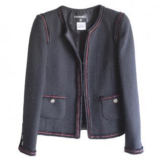 Chanel Paris-Moscow Tweed Black Jacket