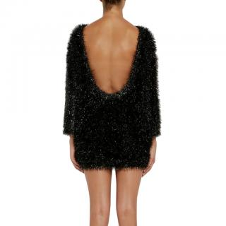 Bella Freud Paris-Texas Low Back Mini Dress