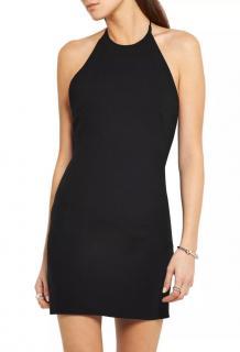 IRO Anna Rubic Black Crepe Dress
