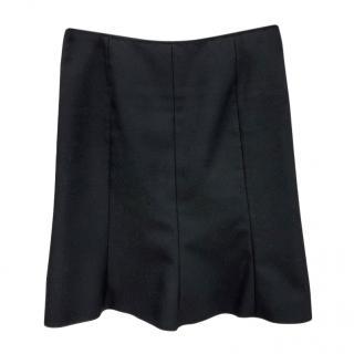 Miu Miu Black Classic Skirt