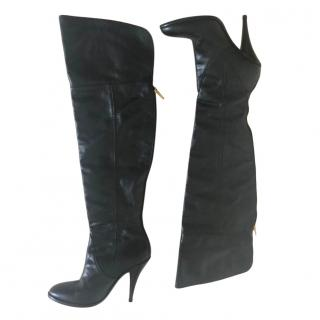 BCBC Max Azria Leather OTK Boots