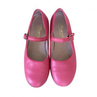 Bonpoint Pink Mary-Jane Flats