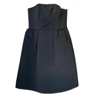 Tar Jarmon Strapless Black Mini Dress