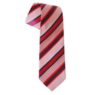Ermenegildo Zegna Red Silk Tie