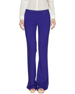 Versace Collection Purple Wide Leg Pants