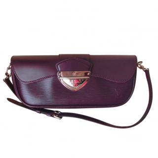 Louis Vuitton Purple Epi Leather Montaigne Bag