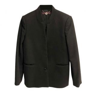 Stella McCartney Black Tailored Collarless Jacket