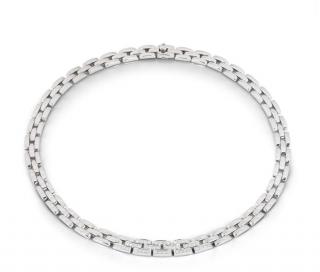 Cartier Gold & Diamond Link Necklace