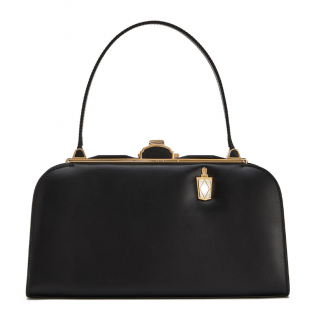 Loewe Black Box Calf Leather Lantern Bag