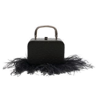 16Arlington Ralphie ostrich-effect leather Bag