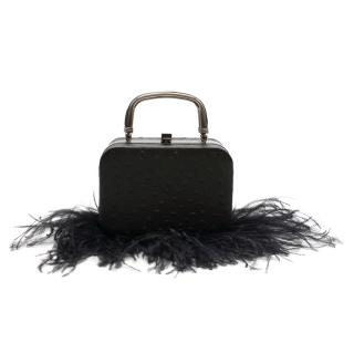 16Arlington Ralphie ostrich-effect leather Bag