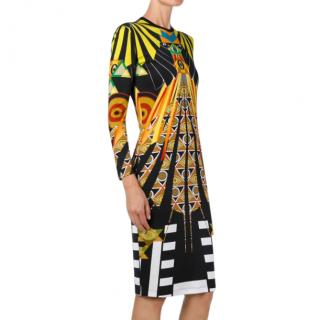 Givenchy Egypt Print Runway Dress