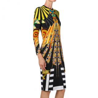 Givenchy Egypt Print Runway Dress