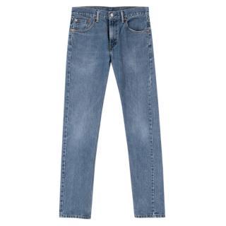 Levis 505 Straight Leg Blue Jeans