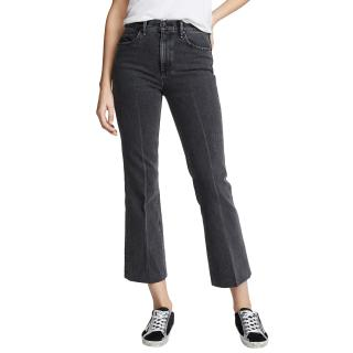 Rag & Bone Grey Wash Dylan Cropped Jeans