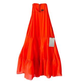 Camilla and Marc Tiered Halterneck Dress