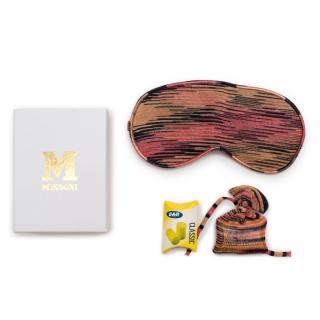 Missoni Knit Sleep Mask with Ear Bud Sleeve